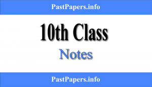 10th Class Notes All Subjects