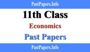11th class Economics past papers with solution